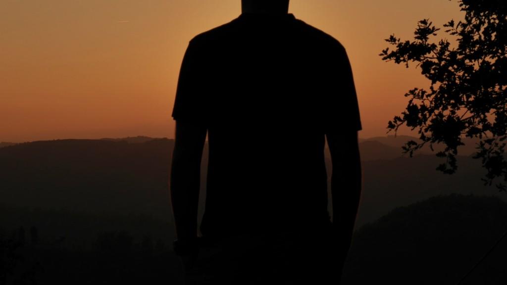 colinna tramonto