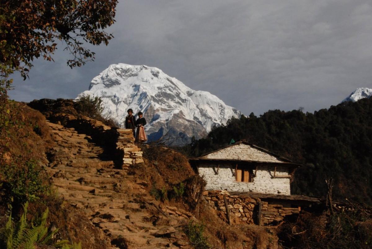 paesaggio nepal